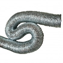 Flexible grey hose 76mm (JM)