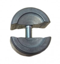 Clamp piece for chain compl. 2-piece